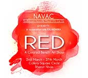 RED – Fund-raising exhibition for Neelanjani Visual Art Centre