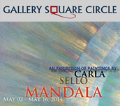 Exhibition of paintings by Carla Sello: Mandala
