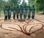 Nirmiti land-art project