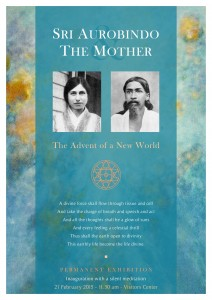 Aurobindo_Mother_Exhibition_poster