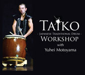 Taiko Japanese Traditional Drum Workshop