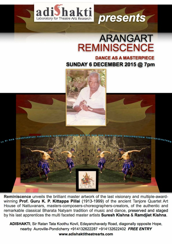 REMINISCENCE DANCE AS A MASTERPIECE poster
