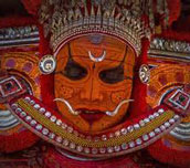 Therukoothu and Theyyam performances