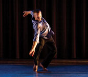 Sacred contemporary dance, voice and improvisation