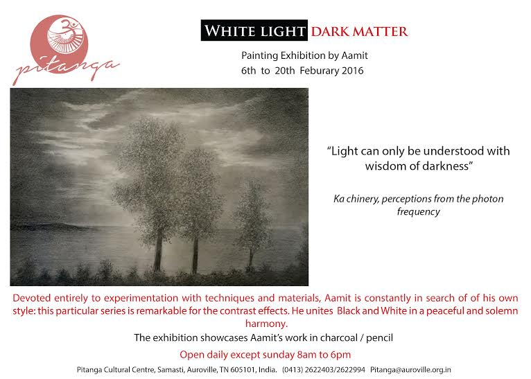 White light dark matter(1)