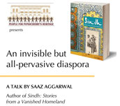 Talk by writer Saaz Aggarwal