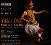 Akrura's Journey – A Nangiar Koothu performance