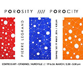Porosity / Porocity by Pierre Legrand