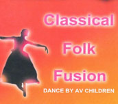 Classical Folk Fusion Dance by Auroville kids