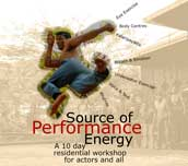 Source of Performance Energy workshop August 2016