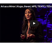 Art as a Mirror | Krupa Jhaveri TEDx talk
