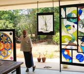 Stained glass expo to open today