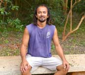 Open Heart Meditation in a forest garden with Samrat 15th April