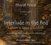 Interlude in the bed: a dream in dance and colour, 20th June