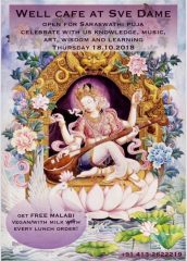 Saraswati Puja and Painting exhibition at Well Cafe