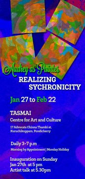 Realizing Synchronicity – Audrey as Painter