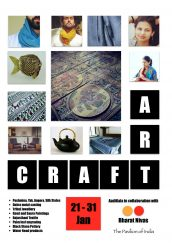 Art Craft – Aadikala in collaboration with Bharat Nivas