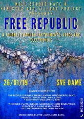 Free Republic – A journey through instruments, voice and electronics at Sve Dame