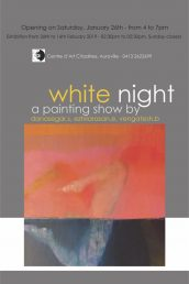 WHITE NIGHT On January 26th, 4pm – Centre d'Art Citadines