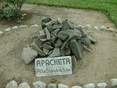 we invite you to a simple Ceremony of installing an Apacheta at our America Site