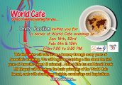 Unity Pavilion – series of World Cafe evening's