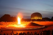 Auroville's Birthday at the Matrimandir Amphitheatre