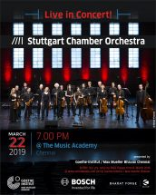 Here comes the Stuttgart Chamber Orchestra!