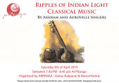 Light Classical Indian Music concert at Pitanga in association with ARPANAA