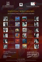 Painting Solo Shows – Aurodhan Art Gallery Pondicherry