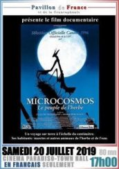 "Film ""Microcosmos, the people of the grass"" Saturday, July 20th at 17h at Cinema Paradiso"