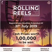 Registration for Rolling Reels film festival