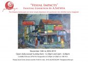Visual Impacts – Painting Exhibition by A. Sathya