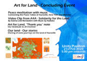 Concluding Event – Art for Land