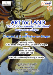 Art for Land exhibition at Aurodhan Art Gallery