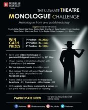 The ultimate Theatre monologue challenge
